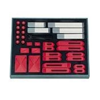 Spannelemente-Set aus Kunststoff M10 83089