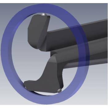 Schnelltaster G210P3 10 20mm 0,01mm Skw. IP67 Inne