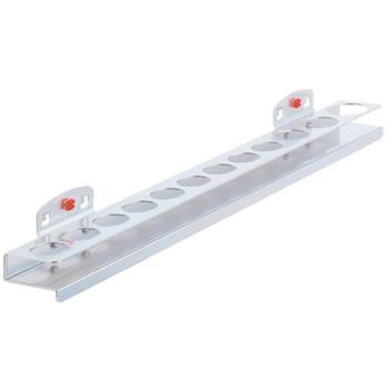 Nusshalter-Ablage mit 12 Löcher B390/H30 mm