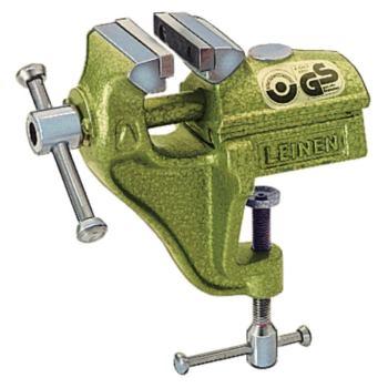 Parallel-Schraubstock 60 mm mit Bügel Farbe grün