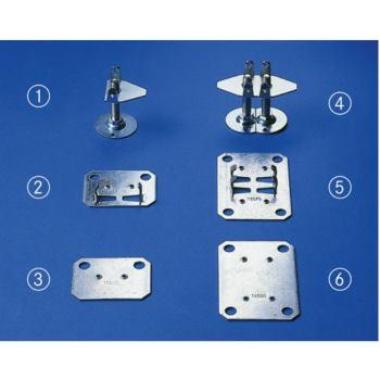 META CLIP Unterlegplatte für Klemmdoppelfuß