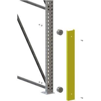 Pfostenschutz mit Gummipuffer Höhe = 970 mm f