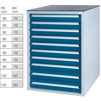 Werkzeugschrank System 800 S, Modell 32/10 GS -