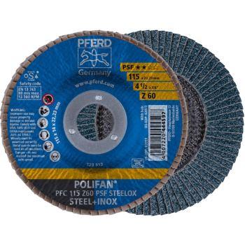 POLIFAN®-Fächerscheibe PFC 115 Z 60 PSF/22,23