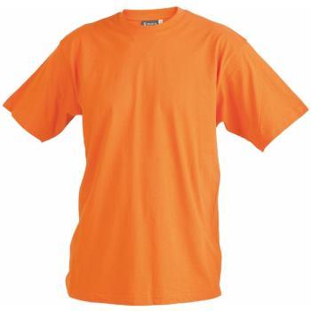 T-Shirt orange Gr. XXL