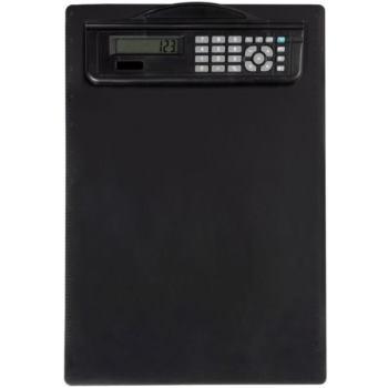 Maul Schreibplatte m.Rechner schwarz Maße 340x230x