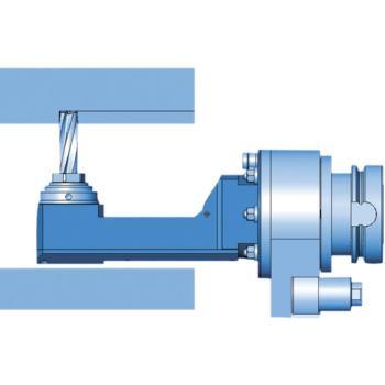 Winkelfräskopf 90 Grad WGX07 SK50 schmale Bauform