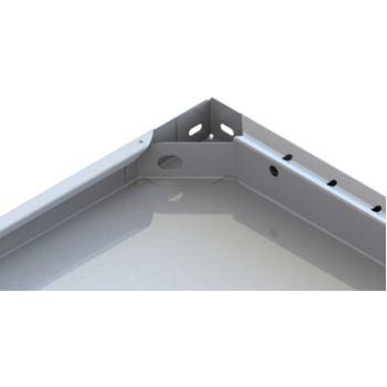 Steckregal CLIP Zusatzboden RAL7035 LxT 1000x