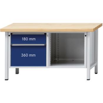 Werkbank Modell 209 V Platte Buche-Massiv 150
