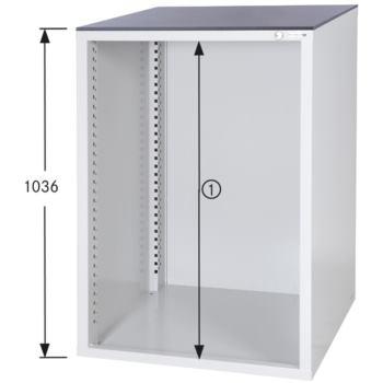 Schrankgehäuse System 700 S, HxBxT 1036x722x700