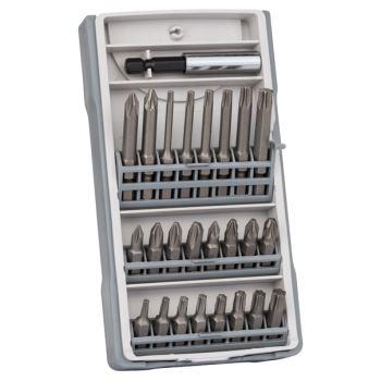 Schrauberbit-Set, 25-teilig, 25 mm, 49 mm, mit Bit