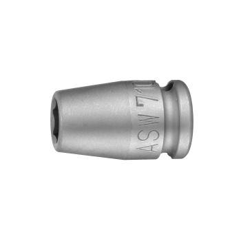 "Kraft-Steckschlüssel 3/8"" IVKT Form G 10 - SW 18"