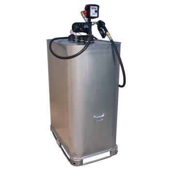 Kompakt-Tankanlage EP 55-AZ-T mit Zähler und 4 m A