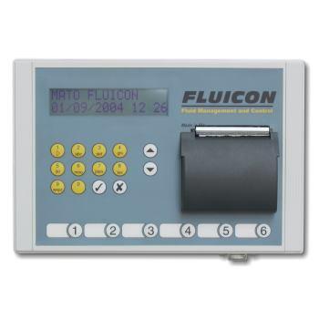 FLUICON - Keypad eichfähig mit integriertem Printe