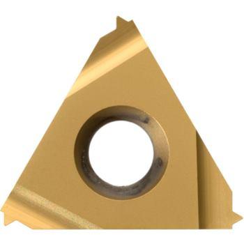 Vollprofil-Platte Außengewinde links 16EL0,5ISO HC 6625 Steigung 0,5