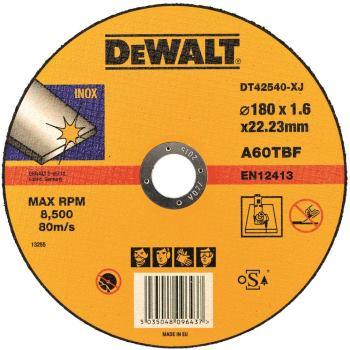 Standard Edelstahl-Trennscheibe - flach DT42540