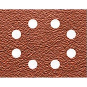 Schleifpapier 115 x 140mm K40, Mehrzwec DT3001 rbe - Trockenschliff - gelocht (8 Loch ringförmig)