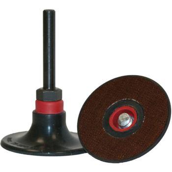 Stützteller QMC 555, Abm.: 50x6 mm , Härte/Farbe: firm, Rot
