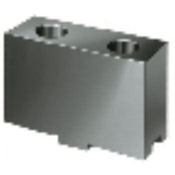 Aufsatzbacke AB in Sonderhöhe, Größe 200+230, 4-Backensatz, ungehärtet, 16MnCr5