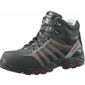 Sicherheitsstiefel S3 FLEXITEC® Sport schwarz/rot Gr. 40