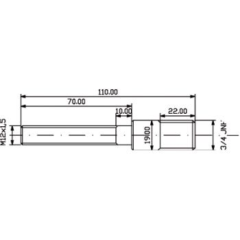 Ersatzteile,Adapterschraube M 16 x 1,5 109116