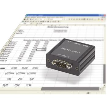 USB Tastaturinterface Typ RS232-USB-1 inkl. USB-Ka