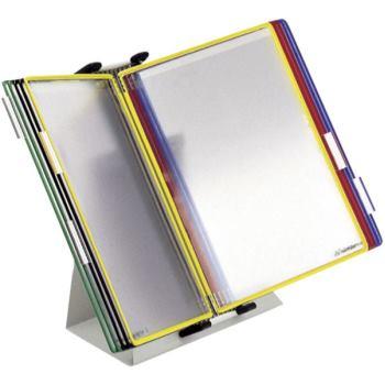 Tischpult-Komplett-Sets DINA4 inkl. 20 Klarsichtta