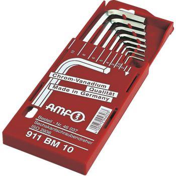 Sechskantschraubendreher 8-teilig 2-10mm kurz