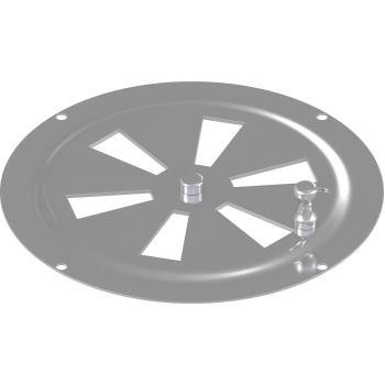 Kiemenblech Typ F, Durchmesser 125 mm, A2