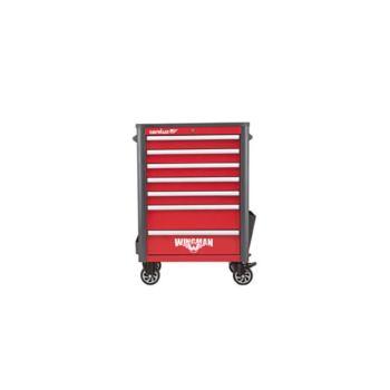 Werkstattwagen WINGMAN, 7 Schubladen, rot/anthrazi t