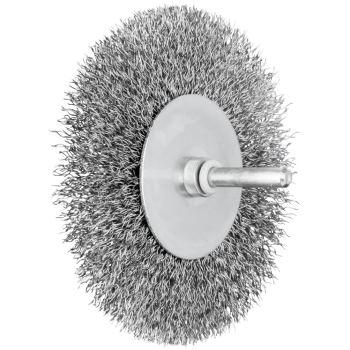 Rundbürste mit Schaft, ungezopft RBU 10010/6 ST 0,30