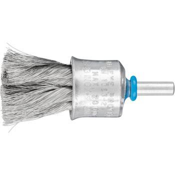 Pinselbürste mit Schaft, gezopft PBG 2323/6 INOX 0,15