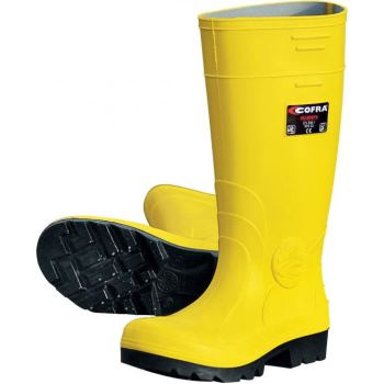 Cofra Safety Castor Sicherheits-Stiefel S5 EN ISO 20345 gelb | 44