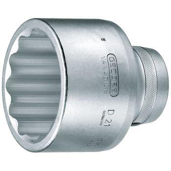 """1""""Zoll Steckschlüsseleinsatz Ø 60 mm DIN 3124 Doppelsechskant"""