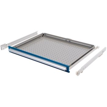 Schublade 300/100 mm, Teilauszug 100 kg, RAL 5010