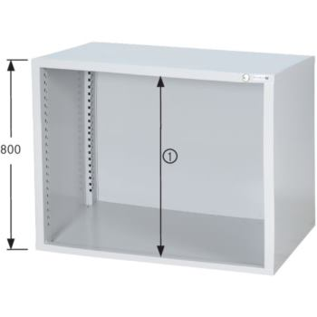 HK Schrankgehäuse System 700 B, Modell B7/24 RAL 7