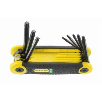 Stiftschluessel-Set 8-tlg. Torx
