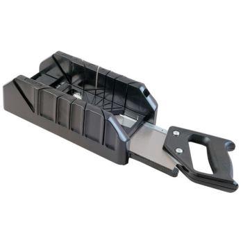 Gehrungslade PVC 350mm+Rueckensaege
