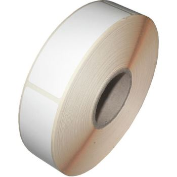 Thermo-Etiketten 25x75 mm, 900 Stück pro Rolle