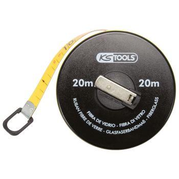 Kapselbandmaß mit Kunststoffband, 10m 300.0040