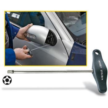 Außenspiegel-Montagewerkzeug 2715-20H · s: 20 H mm· Innen-5-Stern Profil mit Zapfen