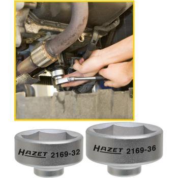 Ölfilter-Schlüssel 2169-36 · Vierkant hohl 10 mm(3/8 Zoll) · Außen-Sechskant Profil