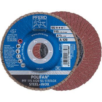 POLIFAN®-Fächerscheibe PFF 115 A 120 SG/22,23