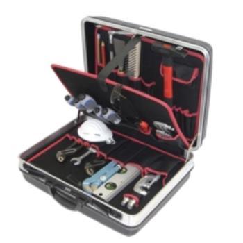 Hartschalenkoffer 3-H2, komplett, mit Sanitär-Azub i-Werkzeugpaket 3, 26-teilig