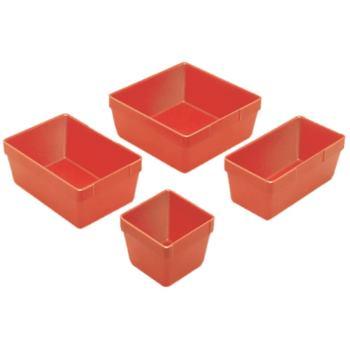 Ersatzteilschachteln 150 x 150 x 61 mm Polystyr