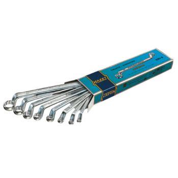 Doppelringschlüssel 8-teilig 6 x 7 - 21 x 22 mm D
