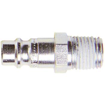 Stecknippel aus Stahl R 1/4 Inch Außengewinde