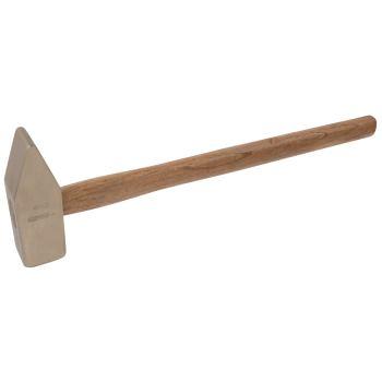 BRONZE Vorschlaghammer 10000 g, mit Hickorystiel 9