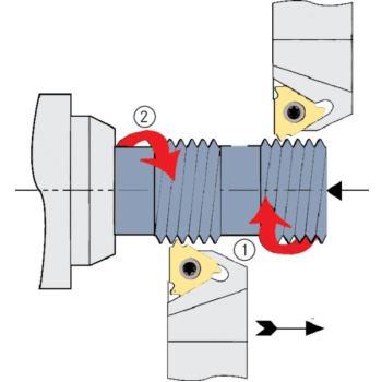 Unterlegplatten AE 22 (außen=rechts/innen=links) +