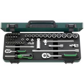 Steckschlüssel 1/4 Inch + 3/8 Inch 48-tlg. Sechsk